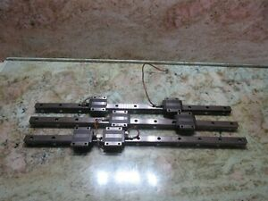 Brother Tc 217 Cnc Thk Linear Guide Rail Scale Sr20tb 25 Inch Each 1