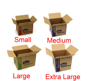 Cardboard Boxes Moving Shipping Packing Storage Multiple Sizes Lot