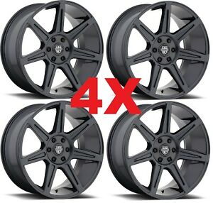 20 Gunmetal Grey Gray Wheels Rims 5x115 Centerline 20x9 7 Spoke
