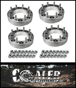4pc 2 Inch Skid Steer Wheel Spacers 8x8 9 16 Studs lug Nuts For Cat 2