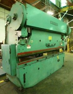12 Oal Wysong Model 150 10 150 Ton 12 X 3 16 8 X 1 4 Press Brake