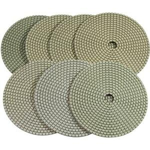 Stadea Series Super C 6 Dry Diamond Polishing Pads For Concrete Countertop
