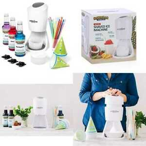 Shaved Ice Machine Syrup Party Package By Includes S900 3 Flavor Pack
