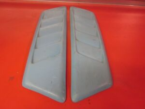 Universal Fiberglass Large Z3 Hood Vents Scoops For Civic Rx7 Wrx 240sx Mx5 Etc