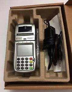 First Data Fd 400gt Wireless Terminal Credit Card Machine power Cord 799