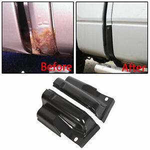 New Pair Steel Door Outer Cab Corners For 2009 2014 Ford F 150 Crew Cab Lt Rt