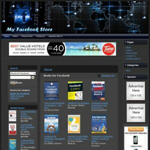 Social Media Networking Book Store Highly Profitable Online Business Website
