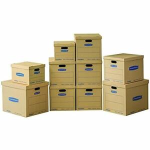 Smoothmove Classic Moving Kit Boxes Tape free Assembly Easy Carry Handles 2 6