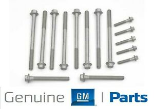 1997 2003 Camaro Corvette Oem Gm Ls1 Ls6 Cylinder Head Bolt Kit New Gm 12498545