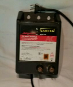 Zareba 77 b 120 Vac Powered Electric Fence Charger Used Tested 120 Vac