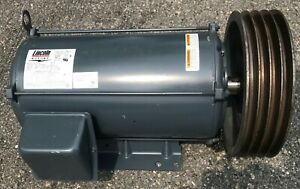 Lincoln 20 Hp Electric Motor 2000 440 Volts 3 Phase
