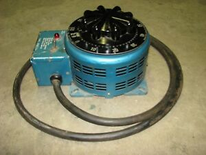 Staco Powerstat 3pn2210 Variable Autotransformer 120 Vac In And 0 140 Vac Out