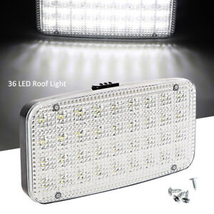12v 36 Led Car Van Vehicle Interior Dome Roof Ceiling Reading Trunk Light Lamp