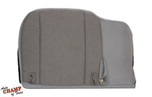 2000 2001 2002 Ford Ranger Xl Xlt Sport driver Side Bottom Cloth Seat Cover Gray