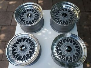 Bbs Rm 012 Wheels Felgen 4x100 15 Bbs Rs Alpina Amg Golf Mk1 Gti Bmw E21 E30