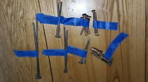 Mixed Lot Silicon Bronze Carriage Bolts Chris Craft Century Wood Boat