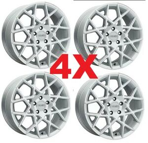 18 Alloy Wheels Rims Silver Gray Grey 5x114 3 18x8