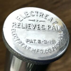 The Electreat Pain Reliever An Example Of Antique Medical Miracle Quackery