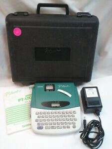 Brother P touch Label Maker Pt 1700 Pt 1700 Electronic Labeling Thermal Printer