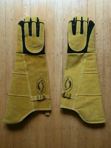 Caiman 21 Inch Welding Gloves 1878 Large Excellent Condition Unused