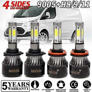 9005 h11 High Low Combo Led Headlight Kit For Ford Transit 150 250 350 2015 2019