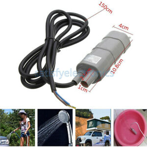 Dc 12v 1 2a Micro Submersible Motor Water Pump 5m 14l min 600l h 6 15v Useful