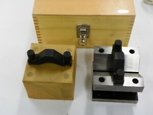 V block Set With Clamps And Case E994