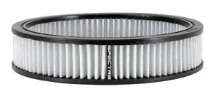 Spectre 48059 High Flow Performance White Air Filter 9 Round X 2 Tall