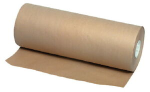 School Smart Kraft Wrapping Paper Roll 40 Lbs 48 Inches X 1000 Feet Brown