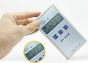Ce Aes 20 Solid Ion Tester Meter For Solid Tourmaline Powder Coatings Textile Y