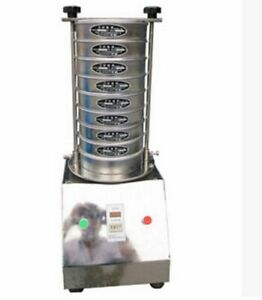 Electric Vibrating Sieve Machine For Granule Powder Slice Different Screens Y