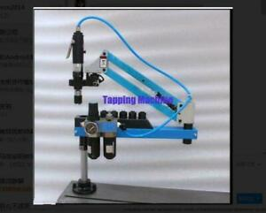 Universal Flexible Arm Pneumatic Air Tapping Machine 360 Angle 1000mm M3 m16 Y