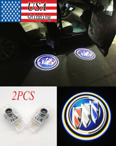 For Buick Regal Lacrosse Envision Car Door Logo Ghost Shadow Led Projector Light