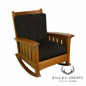 Stickley Mission Collection Solid Cherry Rocker