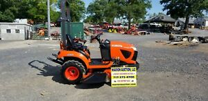 2017 Kubota Bx1880 Compact Tractor W belly Mower Only 65 Hours Warranty