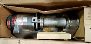 New Gusher Msc4 3 150fj b 12 1 5hp Coolant Water Pump 2hp Motor 230v 460v 3ph