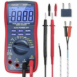 Digital Multimeter Trms 6000 Counts Volt Meter Manual And Auto Ranging Measures