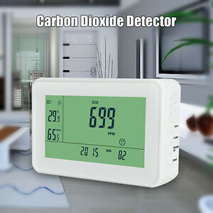 Yeh 40 Lcd Carbon Dioxide Detector Co2 Monitor Meter Gas Air Tester Meter Ap77