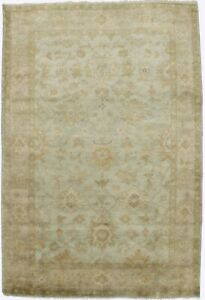Oushak Chobi Floral Design Handmade 4x6 Indian Rug Oriental Home D Cor Carpet