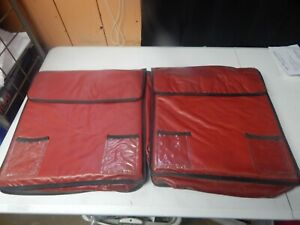 Insulated 16x16 Pizza Delivery Carrying Warmer Case Velcro Bag Thermal