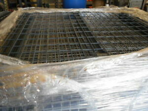 Used Pallet Rack 48 X 46 Double Waterfall Wire Mesh Decking