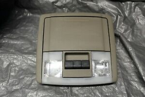 2007 2014 Ford Expedition Overhead Console Map Light Sunroof Vent Switch Storage