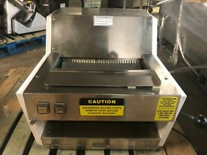 Oliver 711 Countertop 1 2 Commercial 1 2 Hp Bread Slicer Cutter W crumb Tray
