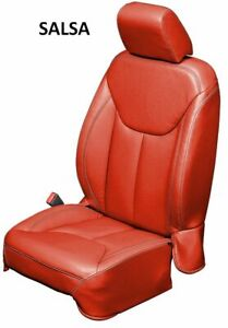 Jeep Wrangler Jk Custom Katzkin Leather Seat Covers Single Color You Pick
