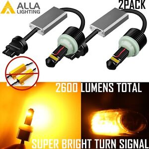 Plug And Play Direct Replacement 3456ll Turn Signal Light Bulb Directionals Lamp