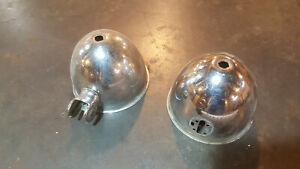 Vintage 1930 s Mars Fire Truck Lights Buckets Police Unity Free U s Shipping