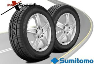 Qty Of 2 Sumitomo Htr A S P02 245 45 17 99w Bw High Performance Touring Tires