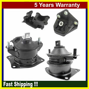Engine Motor Transmission Mount For Honda Accord 2 4l 2003 2007 Manual 4pcs