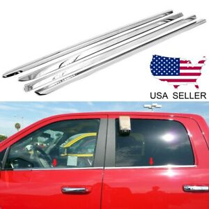 For 2008 2009 2010 2011 2012 Ford Escape Stainless Steel Chrome Window Sill Trim