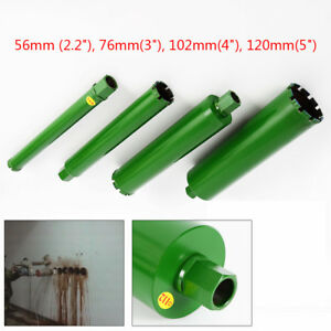 4 Different Size 2 2 3 4 5 Thread Wet Diamond Core Drill Bit For All Types